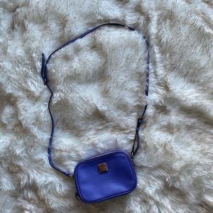 Dooney & Bourke purple small crossbody purse